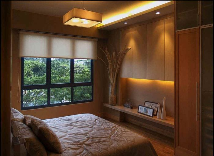 пример красивого стиля комнаты 12 кв.м