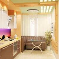 идея необычного декора кухни 13 кв.м картинка