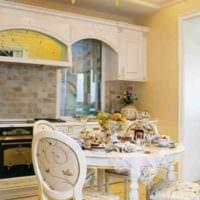 идея необычного дизайна кухни 12 кв.м картинка