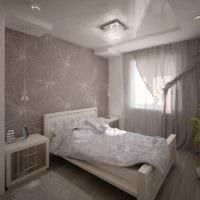 пример необычного декора комнаты 12 кв.м фото