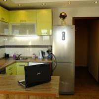 пример красивого дизайна кухни 13 кв.м картинка