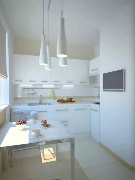 идея необычного стиля кухни в загородном доме фото