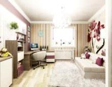 пример красивого интерьера комнаты 12 кв.м фото