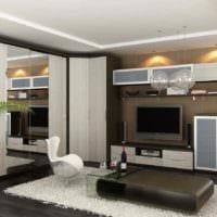 идея светлого дизайна квартиры студии 26 квадратных метров картинка