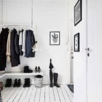 пример красивого интерьера прихожей в частном доме картинка