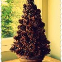 пример создания светлой елки из бумаги самостоятельно фото