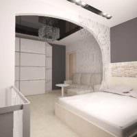 идея красивого интерьера гостиной спальни картинка