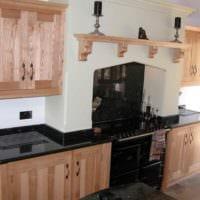 пример необычного дизайна кухни 13 кв.м фото