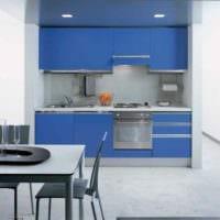 пример необычного стиля кухни с газовой колонкой фото