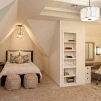вариант яркого дизайна комнаты 12 кв.м фото