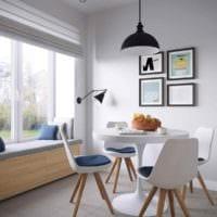 идея светлого стиля кухни 11 кв.м картинка