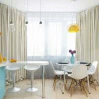 идея красивого дизайна кухни 12 кв.м картинка