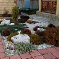 пример необычного дизайна огорода на даче фото