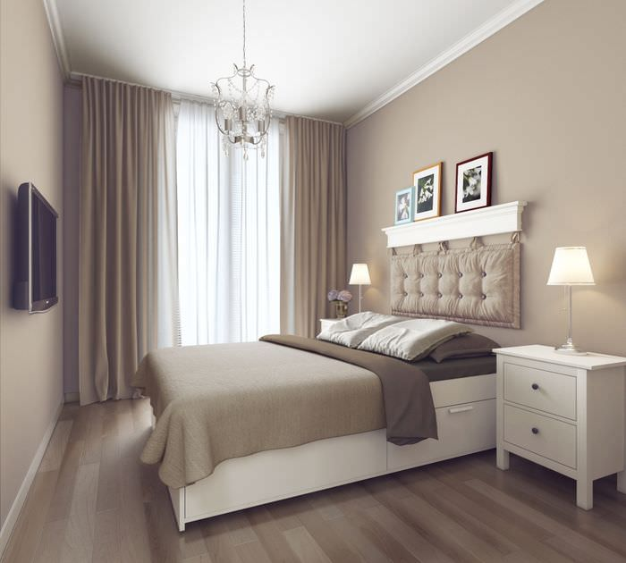 пример яркого дизайна комнаты 12 кв.м