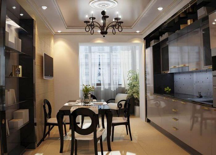 кухня 3 на 3 фото