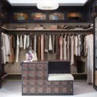 дизайн женской гардеробной