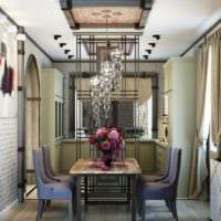 кухня совмещенная с балконом фото дизайна