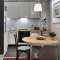 кухня совмещенная с балконом интерьер