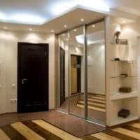современный дизайн прихожей для дома