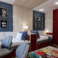 спальня подростка пример дизайна