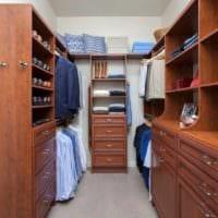 дизайн удобной гардеробной