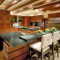 барная стойка и стулья для кухни
