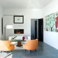 удобный дизайн маленького зала