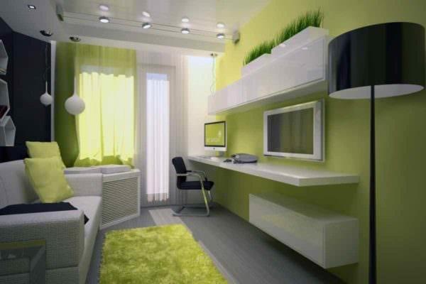 вариант необычного интерьера гостиной 15 кв.м фото