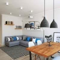 идея яркого стиля комнаты в скандинавском стиле фото