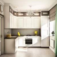 пример яркого интерьера кухни 7 кв.м картинка
