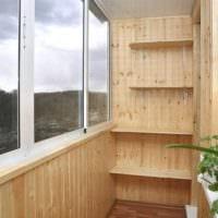 красивый дизайн маленького балкона