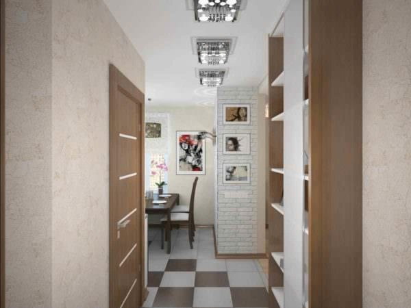 идея светлого декора прихожей в частном доме фото