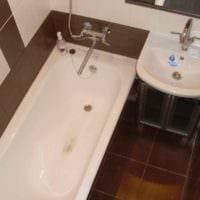 пример необычного стиля укладки плитки в ванной комнате картинка