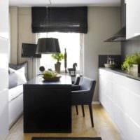вариант необычного декора кухни 13 кв.м картинка