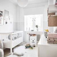 идея необычного стиля комнаты в скандинавском стиле фото