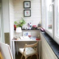 фото дизайн маленького балкона