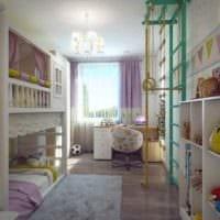 пример светлого стиля комнаты 12 кв.м фото