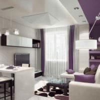 идея красивого интерьера студии 20 кв.м картинка