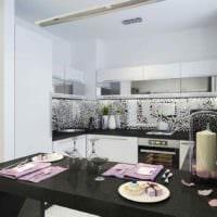 вариант красивого стиля кухни 7 кв.м картинка