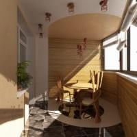 вариантдизайна маленького балкона