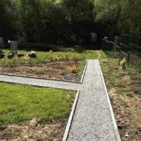 идея использования необычных садовых дорожек в ландшафтном дизайне картинка