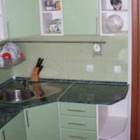 пример красивого интерьера кухни 7 кв.м картинка