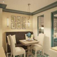 пример необычного дизайна квартиры студии 26 квадратных метров фото