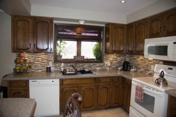 вариант необычного интерьера кухни 10 кв.м. серии п 44 фото