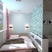 вариант красивого декора квартиры студии 26 квадратных метров фото
