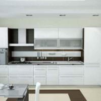 пример необычного дизайна кухни 10 кв.м. серии п 44 фото