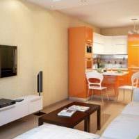 пример светлого дизайна гостиной 15 кв.м картинка