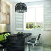 пример яркого стиля кухни 11 кв.м картинка