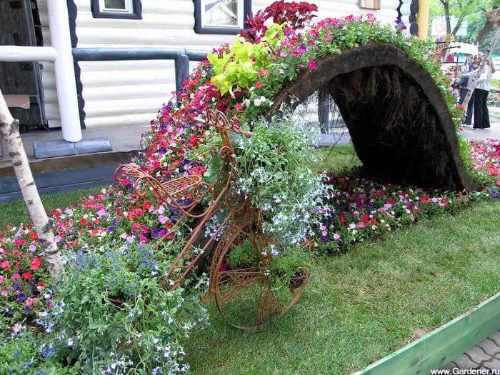 отметил, украсить садовый участок картинки нельзя придумать ничего