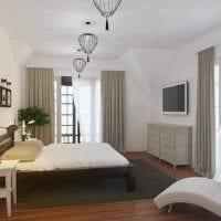 идея яркого декора квартиры в скандинавском стиле фото